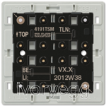 KNX F40 Universal push-button module 1-gang