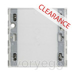 CLEARANCE ITEM - KNX touch sensor 3 Basic 1-gang System 55, E22