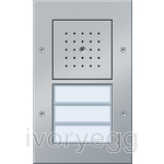 Surface Mounted Door Station - 3 Call Buttons, Audio TX44 Colour Aluminium