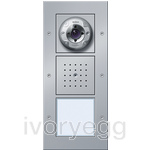 Surface Mounted Door Station - 1 Call Button, Video TX44 Colour Aluminium