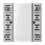 KNX F50 LS range Universal push-button extension module 4-gang