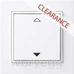 CLEARANCE ITEM - THERMOKON Easyfit 4-channel White switch - 55mm frame