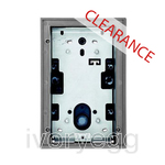 CLEARANCE ITEM - ABB Welcome Flush Mount Wall Box, Size 1/2 - light grey