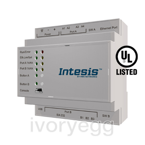 KNX- MITSUBISHI ELECTRIC AC (15 Groups). City Multi with AG-150A, G-50A, GB-50A or GB-50ADA