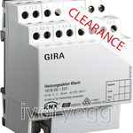 CLEARANCE ITEM - GIRA Heating actuator 6-gang, - Instabus EIB/KNX