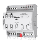 Lumento DX4. 4-channel constant voltage PWM dimmer  for DV LED loads and DIN rail mounting