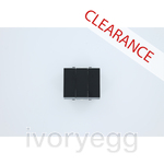 CLEARANCE ITEM - ABB Millenium AMD110753-SB 3 gang 2 way switch rocker 10AX