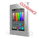 CLEARANCE ITEM - ZENNIO KNX Z41 Colour Capacitive Touch Panel - Silver