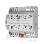 MAXinBOX 8 v3 KNX multifunction actuator - 8 x 16A outputs C-Load